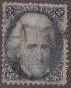 US 73 Andrew Jackson used single