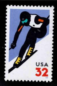USA Scott 3180  MNH** 1998 down hill ski stamp