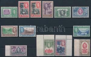 Belize stamp British Honduras Definitive set MNH 1938 Mi 112-123 +113 C WS233421