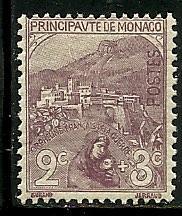 Monaco # B2, Mint Hinge Remain