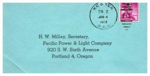 1962 KC & Tex R.P.O.Railroad #119