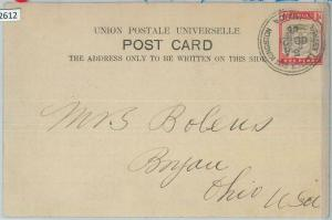 82612 -  JAMAICA  - POSTAL HISTORY - POSTCARD from KINGSTON to USA  1906