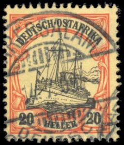 German East Africa 26 used