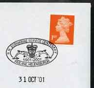 Postmark - Great Britain 2001 cover with \'RN Submarine S...