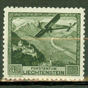 Liechtenstein C5 MNH CV $150