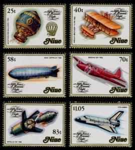 Niue 1983 Scott #389-394 Mint Never Hinged