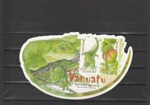 Vanuatu  Scott#  936a  MNH  S/S  (2007 Banded Iguana)