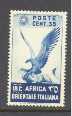 Italian East Africa Sc # 9 mint never hinged