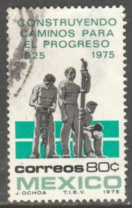 MEXICO 1108 50th Anniversary of road building USED. F-VF. (1328)