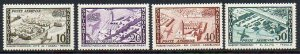 French Morocco: 1954 Air set (4) SG 429-32 mint