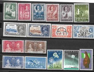 COLLECTION LOT #757 NETHERLANDS  17 MNH/MH STAMPS 1935+ CV + $23