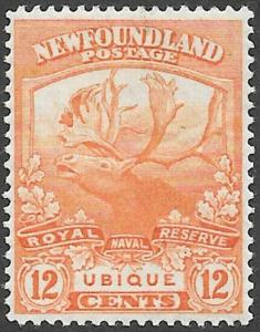 Newfoundland Scott Number 123 VF H