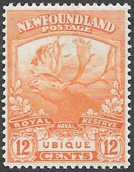 Newfoundland Scott Number 123 VF H