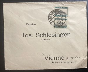 1931 Greece Commercial Cover To Vienna Austria