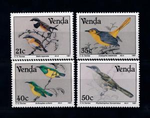 [52391] Venda 1991 Birds Vögel Oiseaux Ucelli  MNH