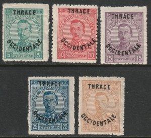 Thrace Sc N20-N24 set MH