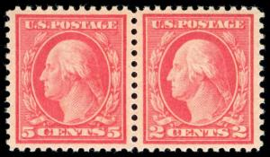 momen: US Stamps #505 Pair MINT OG NH PSE Cert XF-SUP