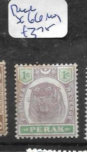 MALAYA PERAK (P1601B) TIGER 1C  SG 66    MOG