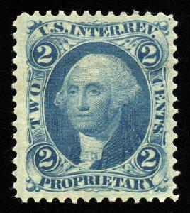 B336 U.S. Revenue Scott R13c 2c Proprietary uncancelled with large margins