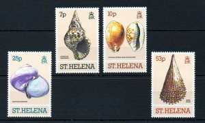 St. Helena MNH 356-9 Seashells Marine Life 1981