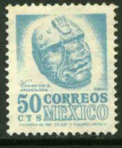 MEXICO 881, 50cents 1950 Definitive 2nd Printing wmk 300. MINT, NH. F-VF.