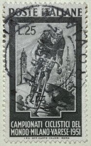 AlexStamps ITALY #584 XF Used