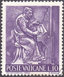 Vatican City # 424 used ~ 10 l Organist