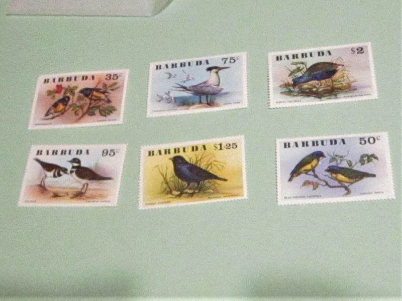 Barbuda - 238-43, MNH Set. Birds. SCV - $9.80