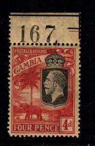 Gambia 108   MNH  cat $ 52.00  1933