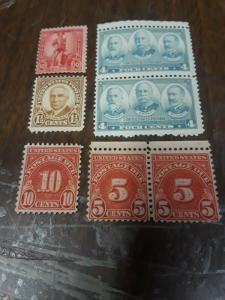 USA Mint Harding, Generals  & BOB