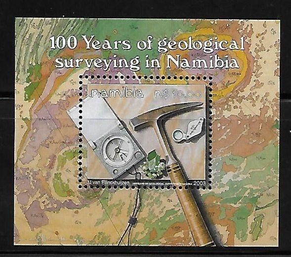 Namibia 2003 Geological Surveying S/S MNH A634