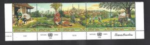 United Nations (Geneva), 307-11, Transport Strp(5),**MNH**