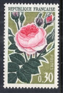 France 1044 Rose MNH VF
