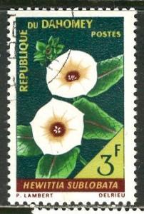 Dahomey 1967: Sc. # 227; O/Used CTO Single Stamp