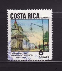 Costa Rica 310 Set U Art, Street Scene by Luis Chacon (B)