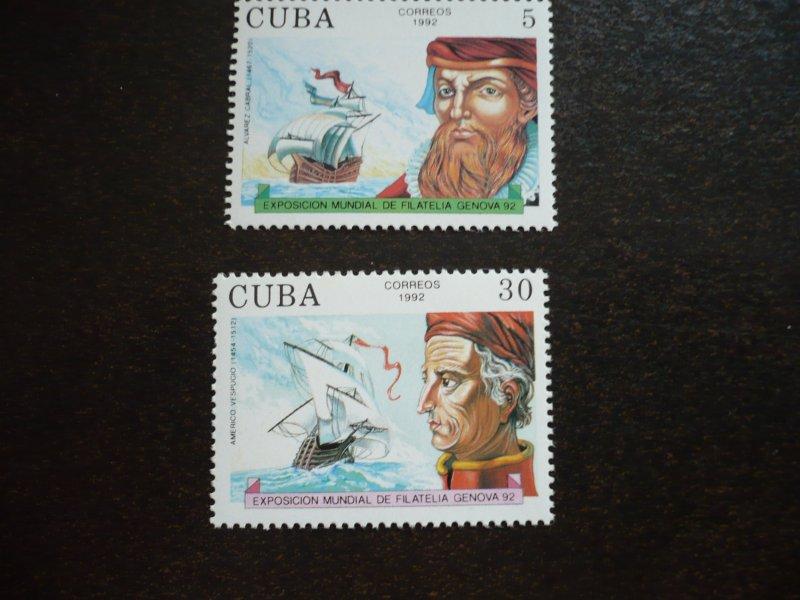 Stamps - Cuba - Scott# 3441-3447 - MNH Set of 6 stamps and 1 Souvenir Sheet