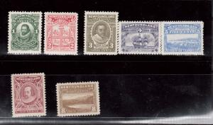 Newfoundland #87 - #93 VF Mint