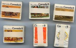 Canada - 1972-1973 Plains & Algonkian Indians X 100 Sets