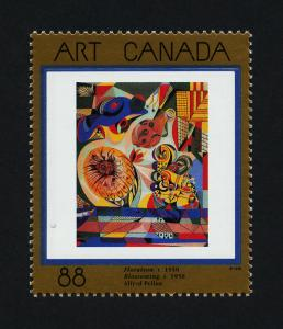 Canada 1545 MNH Art, Floraison