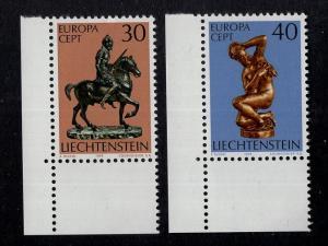 Liechtenstein  #543-544  1974  MNH Europa
