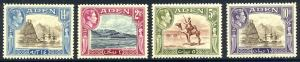 HALF-CAT BRITISH SALE: ADEN #16-27 Mint LH