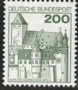 Germany Scott 1240A MH* 1977-1979 stamp