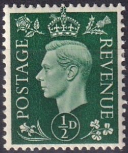 Great Britain #235 F-VF Unused  (S10194)