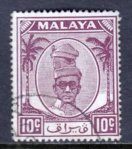 Malaya (Perak) - Scott #111 - Used - SCV $0.40
