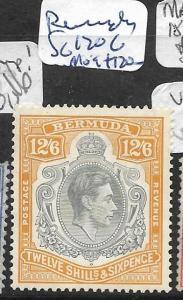 BERMUDA  (PP1901B) KGVI 12/6  SG 120C  MOG