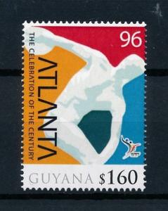 [78002] Guyana 2010 Olympic Games Atlanta  MNH