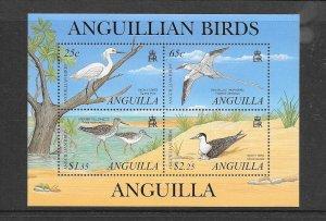 BIRDS - ANGUILLA #1058   MNH