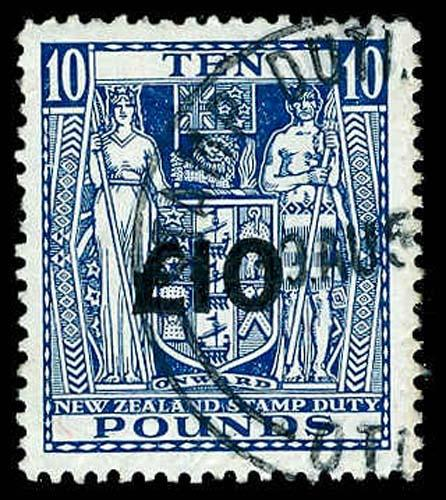NEW ZEALAND R286  Used (ID # 71042)