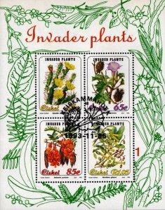 Ciskei - 1993 Invader Plants MS Used SG MS240