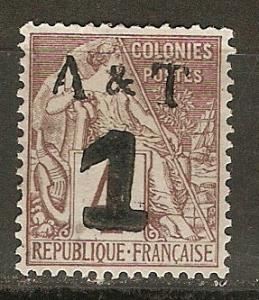 Annam & Tonkin MLH VF 1888 SCV $47.50